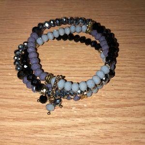 Triplet beaded bracelet set!